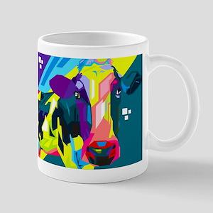 Pop Art Cow Animal Print Mugs