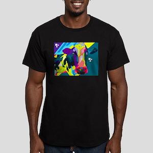 Pop Art Cow Animal Print T-Shirt