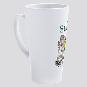 Sullivan Irish Coat of Arms 17 oz Latte Mug