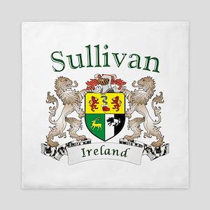 Sullivan Irish Coat of Arms Queen Duvet