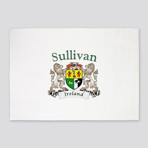 Sullivan Irish Coat of Arms 5'x7'Area Rug