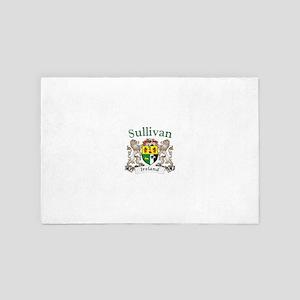 Sullivan Irish Coat of Arms 4' x 6' Rug