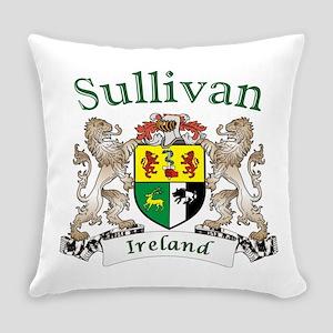 Sullivan Irish Coat of Arms Everyday Pillow