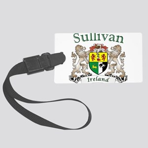 Sullivan Irish Coat of Arms Large Luggage Tag