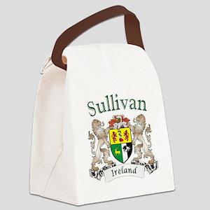 Sullivan Irish Coat of Arms Canvas Lunch Bag