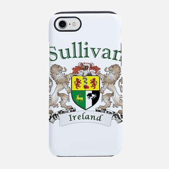 Sullivan Irish Coat of Arms iPhone 8/7 Tough Case