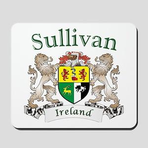 Sullivan Irish Coat of Arms Mousepad