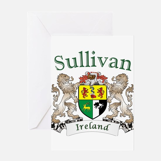 Sullivan Irish Coat of Arms Greeting Cards