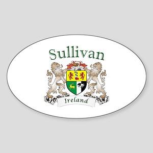 Sullivan Irish Coat of Arms Sticker