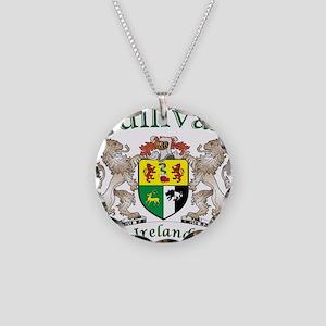 Sullivan Irish Coat of Arms Necklace Circle Charm
