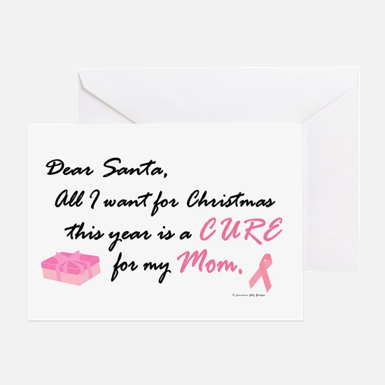Dear Santa (Mom BC) Greeting Card