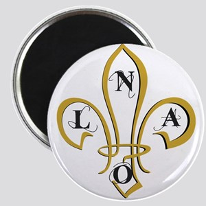 NOLA Fancy Fleur De Lis Magnets