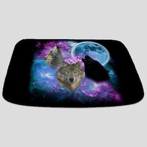 Wolves Mystical Night Bathmat