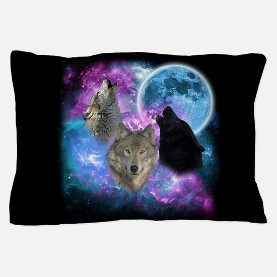 Wolves Mystical Night Pillow Case