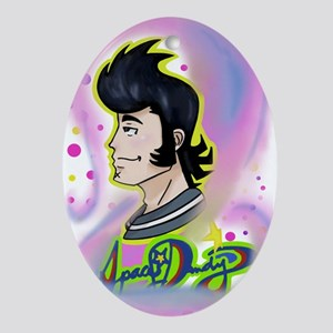 Space Dandy Oval Ornament