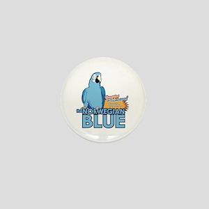 norwegian blue Mini Button