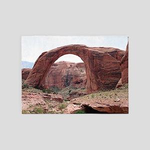 Rainbow Bridge, Utah ,USA 3 5'x7'Area Rug