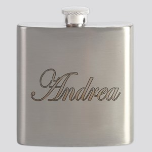 Gold Andrea Flask
