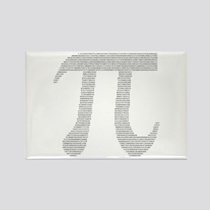 Digits of Pi Rectangle Magnet