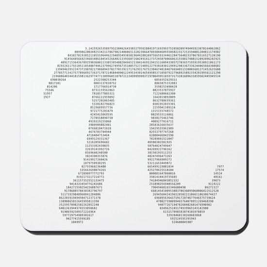 Digits of Pi Mousepad