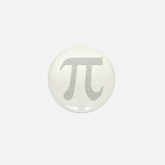 Digits of Pi Mini Button