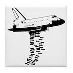 NASA Preemptive Strike Tile Coaster