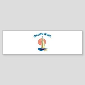 Williamsburg, Virginia Bumper Sticker