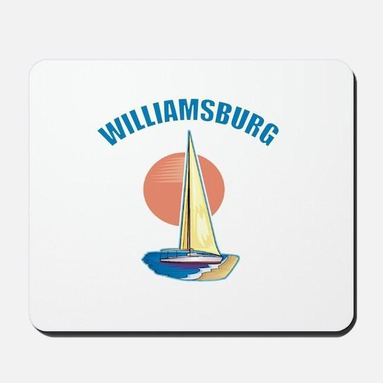 Williamsburg, Virginia Mousepad