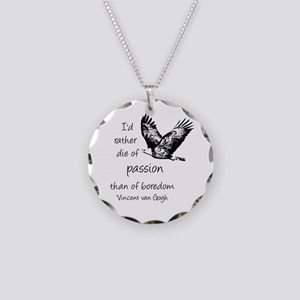 Van Gogh Rather Die Of Necklace Circle Charm