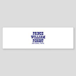 Prince William Forest Nationa Bumper Sticker