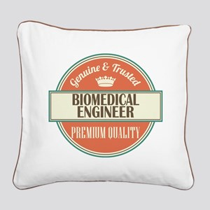 Biomedical Engineer Square Canvas Pillow