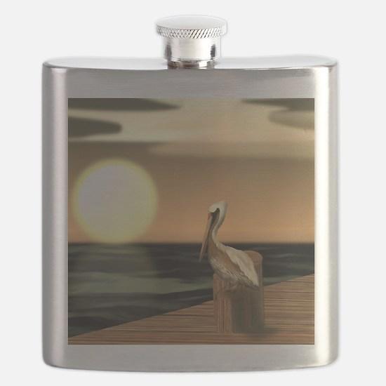 Cute Sage Flask