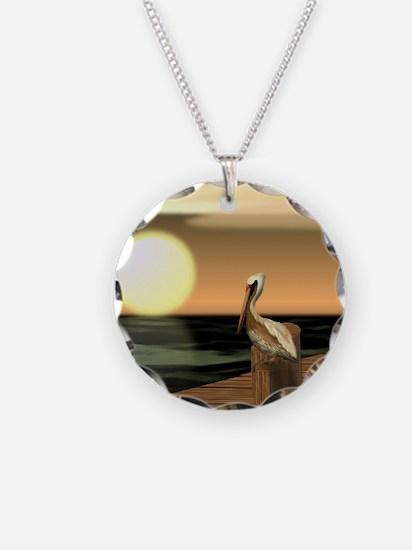 Unique Nature Necklace Circle Charm
