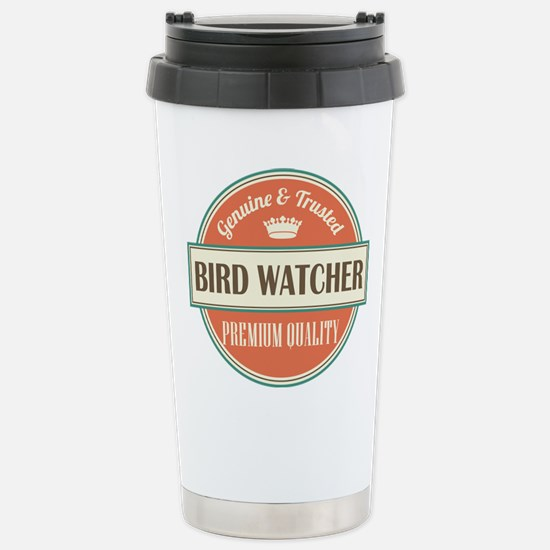 Bird Watcher Stainless Steel Travel Mug