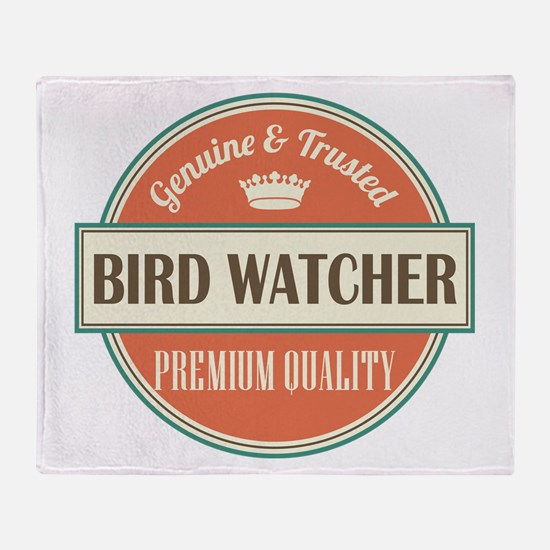 Bird Watcher Throw Blanket