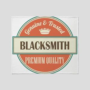 Blacksmith Throw Blanket