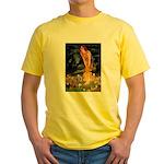 Midsummer / Yorkie Yellow T-Shirt