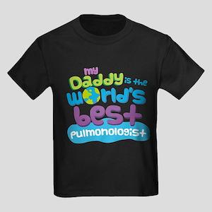 Pulmonologist Dad Kids Dark T-Shirt