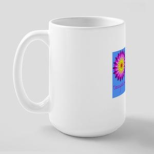 Flower Power OT Large Mug