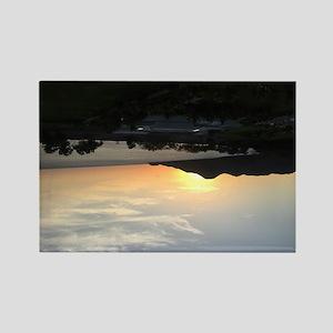 Sweet Sunset  Rectangle Magnet