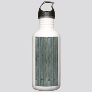 nautical teal beach dr Stainless Water Bottle 1.0L
