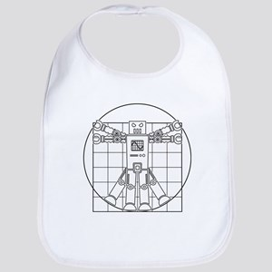 Vitruvian robot Bib