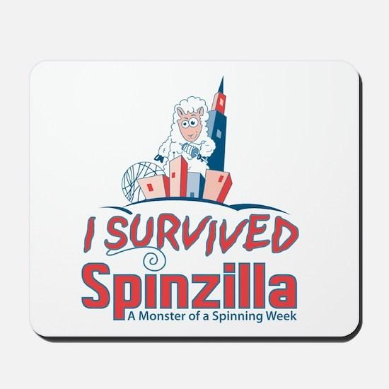 I Survived Spinzilla Mousepad