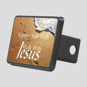 EXPRESS YOUR FAITH WALK WI Rectangular Hitch Cover