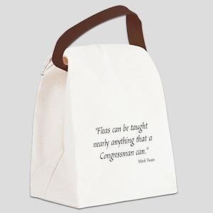 MARK TWAIN POLITICS - Canvas Lunch Bag