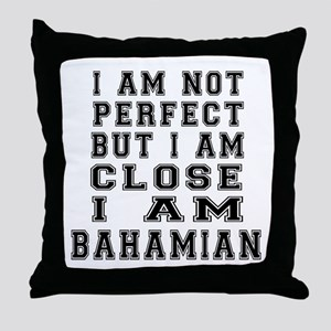 Bahamian Designs Throw Pillow