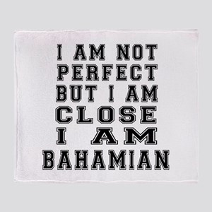 Bahamian Designs Throw Blanket