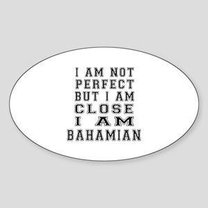 Bahamian Designs Sticker (Oval)