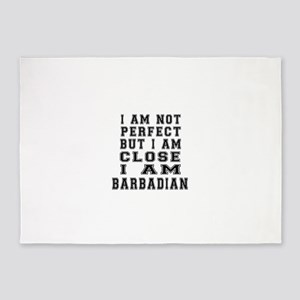 Barbadian or Bajuns Designs 5'x7'Area Rug