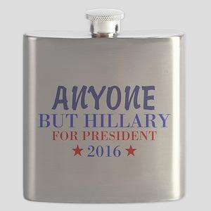 Anyone But Hillary Flask